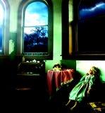 Старая комната игрушки Стоковое Изображение
