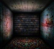 старая комната Стоковые Изображения