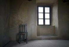 Старая комната grunge Стоковая Фотография RF