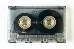 Старая компактная магнитофонная кассета Стоковое Изображение