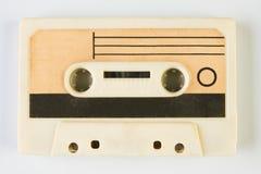 Старая компактная магнитофонная кассета Стоковые Изображения RF