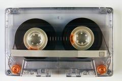 Старая компактная магнитофонная кассета Стоковые Фото