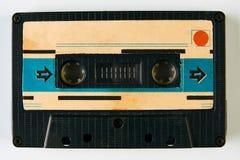 Старая компактная магнитофонная кассета Стоковая Фотография