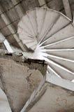 Старая конкретная лестница Стоковые Изображения RF