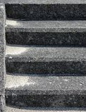 Старая конкретная предпосылка лестниц Стоковые Фотографии RF