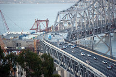 старая конструкции моста новая Стоковые Фотографии RF