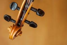 Старая концепция музыки скрипки Стоковые Фото