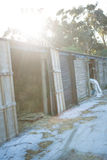 Старая конюшня лошади Стоковые Фото