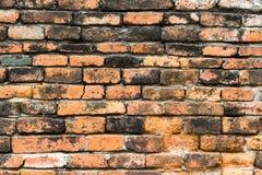 Старая коричневая кирпичная стена Стоковая Фотография RF