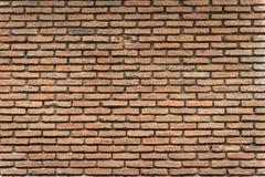 Старая коричневая кирпичная стена Стоковые Изображения RF
