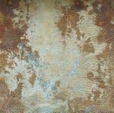 Старая коричневая предпосылка стены гипсового цемента Стоковые Изображения RF