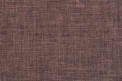 Старая коричневая текстура ткани Стоковая Фотография