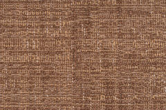 Старая коричневая текстура ткани Стоковое фото RF