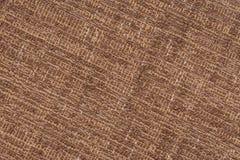 Старая коричневая текстура ткани Стоковая Фотография RF