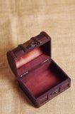 Старая коробка Стоковое Изображение