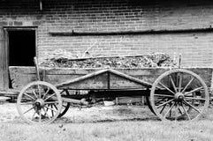Старая колесница сельского хозяйства Стоковые Фото