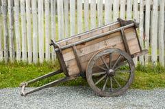 Старая колесница сельского хозяйства Стоковое Изображение RF