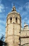 Старая колокольня в Валенсии стоковые фото