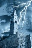 Старая колокольня Стоковое Изображение