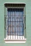 Старая колониальная деталь архитектуры, Ciudad Bolivar, Венесуэла Стоковое Изображение RF