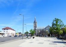 Старая красивая церковь Литва Стоковые Изображения