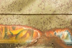 Старая краска автомобиля Стоковое фото RF