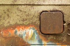 Старая краска автомобиля Стоковые Фото