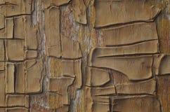 Старая краска на деревянной поверхности Стоковое фото RF