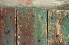 Старая краска на стене Стоковые Фото