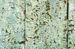 Старая краска на стене Стоковая Фотография