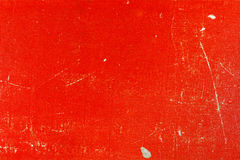 Старая красная бумажная текстура с царапинами и пятнами абстрактная предпосылка Стоковое Фото