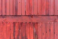 Старая красная деревянная текстура с естественными картинами Стоковые Фото