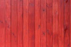 Старая красная деревянная текстура с естественными картинами Стоковые Изображения