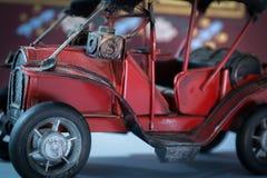 Старая красная игрушка Стоковое фото RF