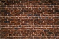 Старая красная кирпичная стена Стоковое Изображение