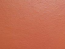 Старая красная предпосылка текстуры цемента стены Стоковое Изображение