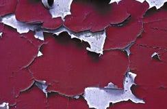 Старая треснутая краска Стоковые Фотографии RF