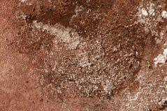 старая красная стена текстуры Стоковое фото RF