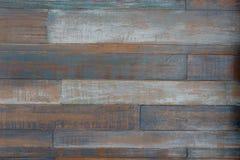 Старая красочная деревянная предпосылка Стоковая Фотография