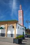 Старая красочная мечеть в Танжере, Марокко Стоковая Фотография