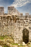 Старая крепостная стена Стоковые Изображения