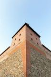 Старая крепость в городке Lida Стоковое Фото