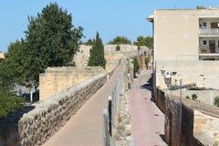 Старая крепость в Alcudia, Мальорка Стоковое фото RF