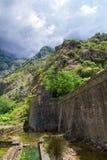 Старая крепость городка Kotor средневекового Место всемирного наследия ЮНЕСКО части Стоковое Изображение