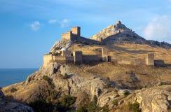 Старая крепость над морем Стоковое Изображение