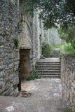 Старая крепость Kassiopi, Греции Стоковая Фотография RF