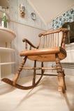 Старая кресло-качалка стоковые фото