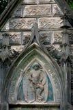 Старая крипта в Baykovoe cemetry Стоковые Фотографии RF