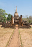 Старая круговая пагода Стоковые Изображения RF