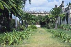 старая крупного поместья мексиканская Стоковое Изображение